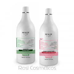 Progressiva Merlot Liss Kit Sem Formol Branco 2x1000ml